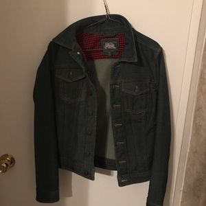 Roots jean jacket size small!